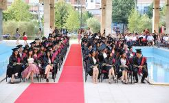 Bedër University College, graduated the fourth generation of students