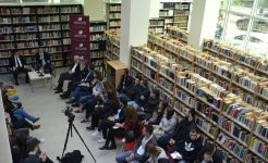 The Electoral Reform discussed among Oerd Bylykbashi and the students