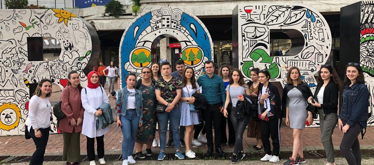 Students of Public Relations and Communication Marketing visit to Kosovo