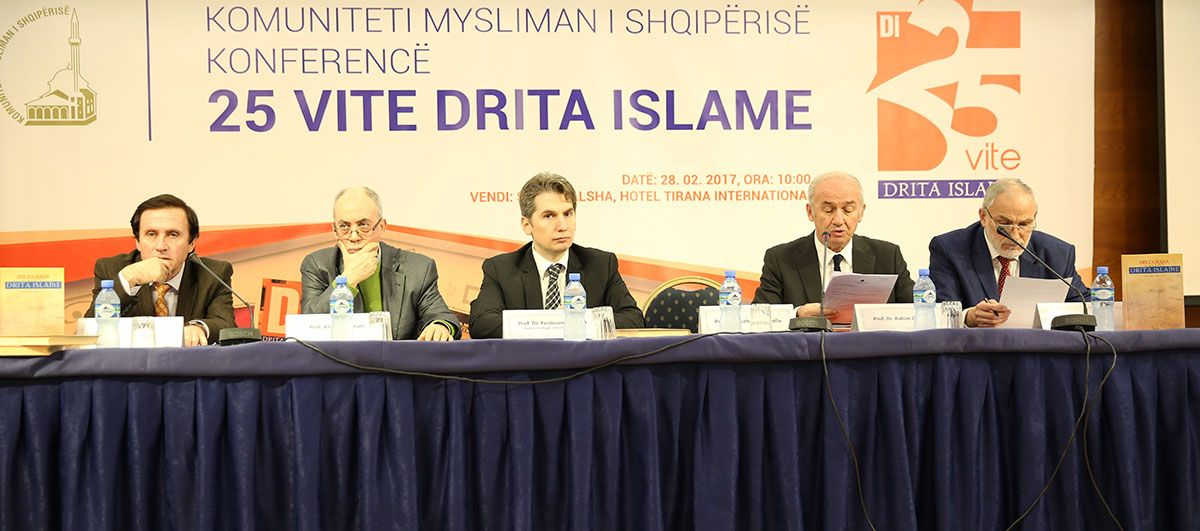 "Scientific conference held on topic: ""25 years Drita Islame"""