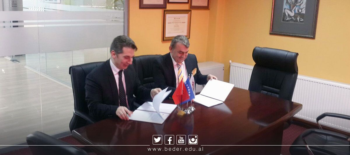 Cooperation agreement with AAB University College in Pristina