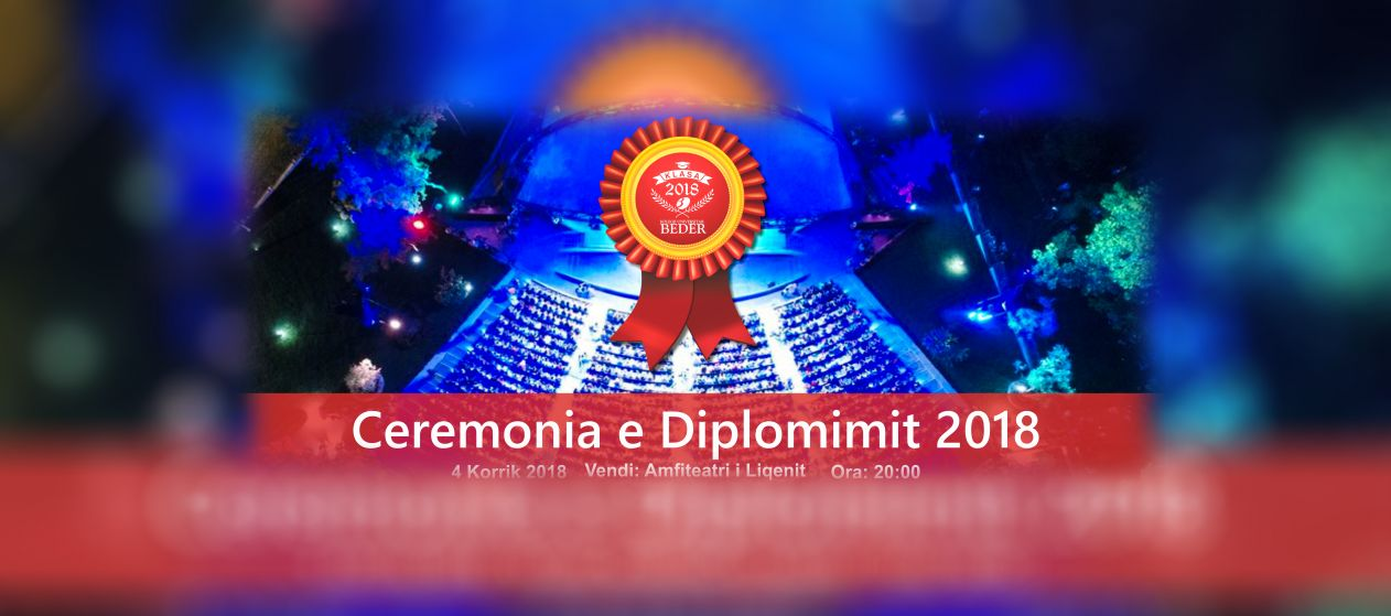 Ceremonia e Diplomimit 2018