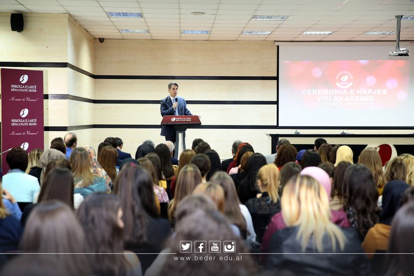 The Opening Ceremony for the New Academic Year 2017-2018