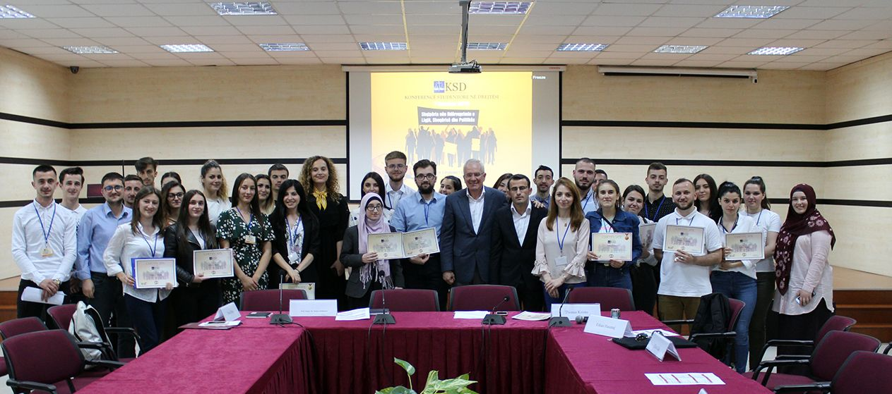 The 5th student conference on Law