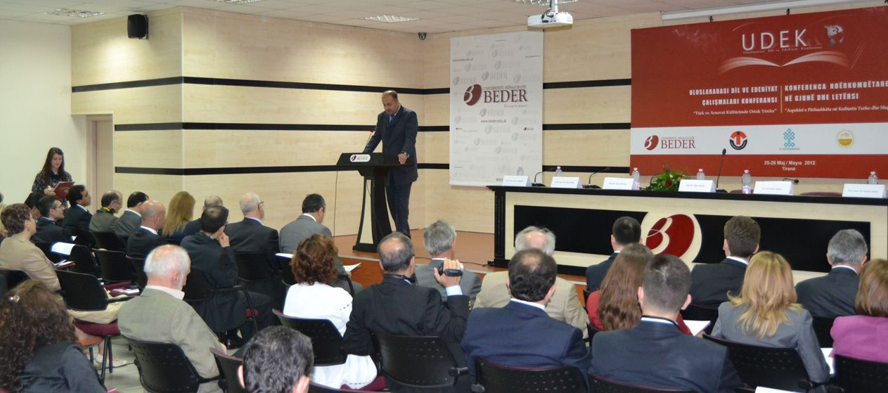 "International Conference with the Topic ""Common Aspects of Turkish and Albanian Culture"""