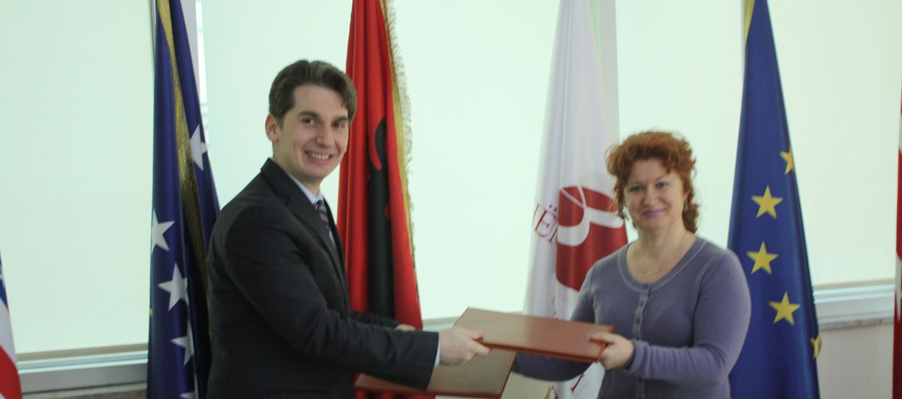 The Signing of the Cooperation Agreement with the Albanian School of Magistrates