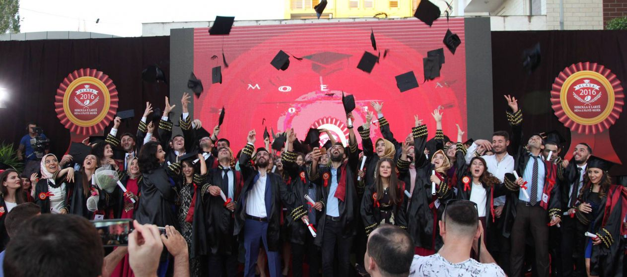 "Higher Education Institution ""Hëna e Plotë"" Bedër Graduates the Third Generation of its Students"